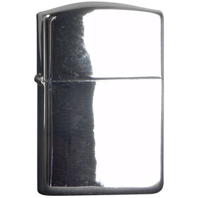 Zippo Petrol Lighter polished chrome poliert